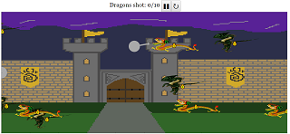 Shoot The Simile And Metaphor Dragons Html5 Game Open Educational Resources Open Source Physics Singapore