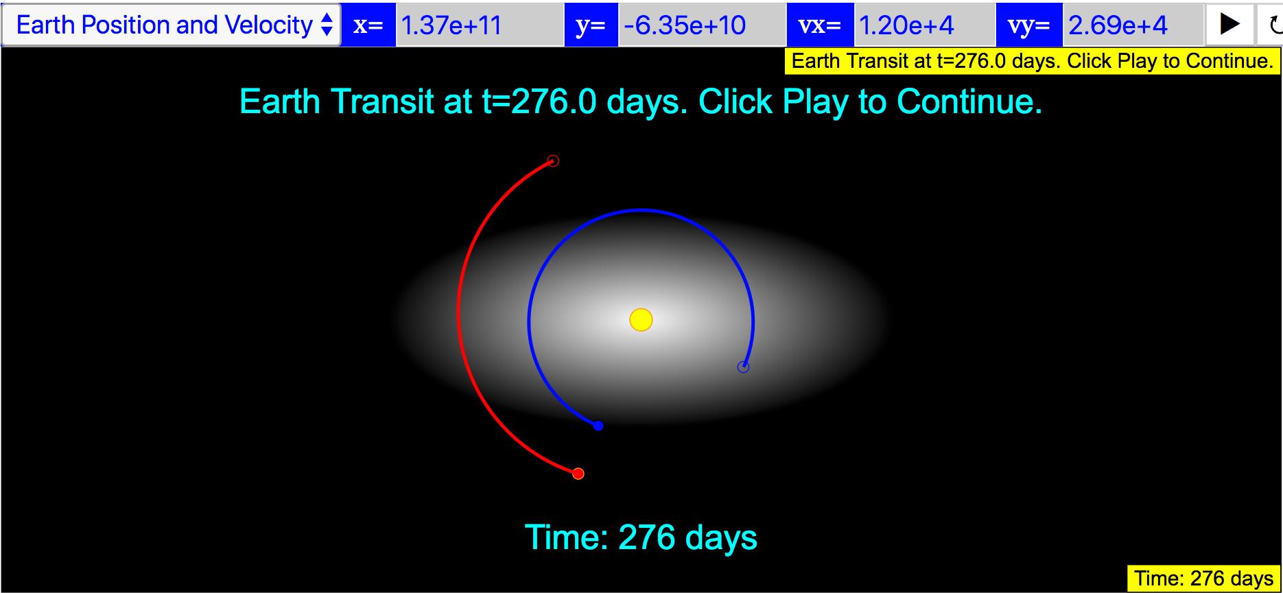 transist 276 days