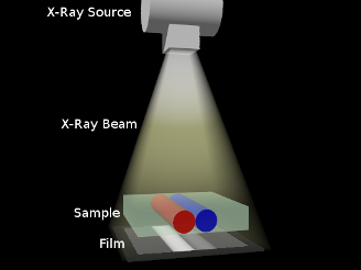 Simulated Geometry of X-Ray Imaging Simulation